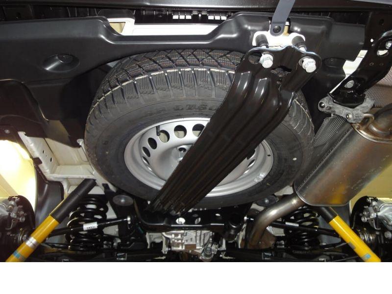 Seikel Unterflur Ersatzradhalter F 252 R Vw T5 Modelle