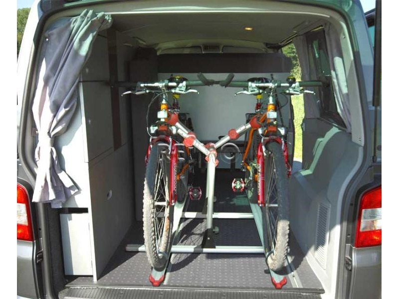 fahrradtr ger f r den innenraum des vw t5 6 mit vw. Black Bedroom Furniture Sets. Home Design Ideas